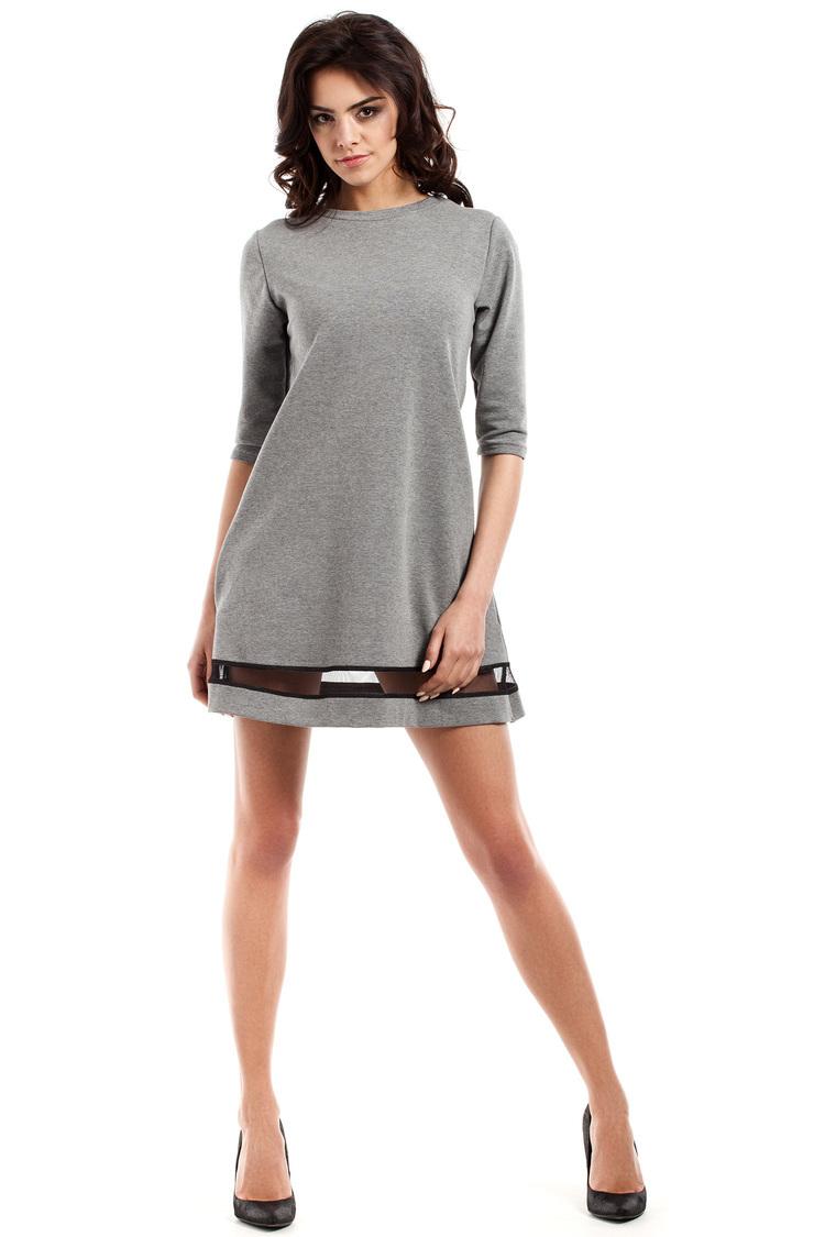 Sukienka Model MOE219 Grey - Moe