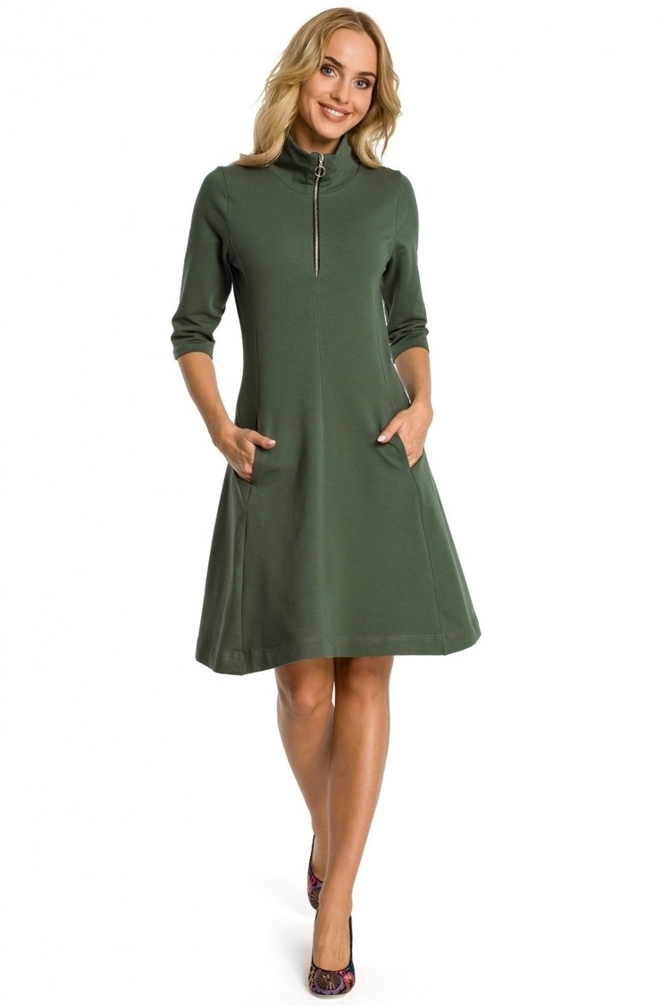 Sukienka Model MOE349 Green - Moe