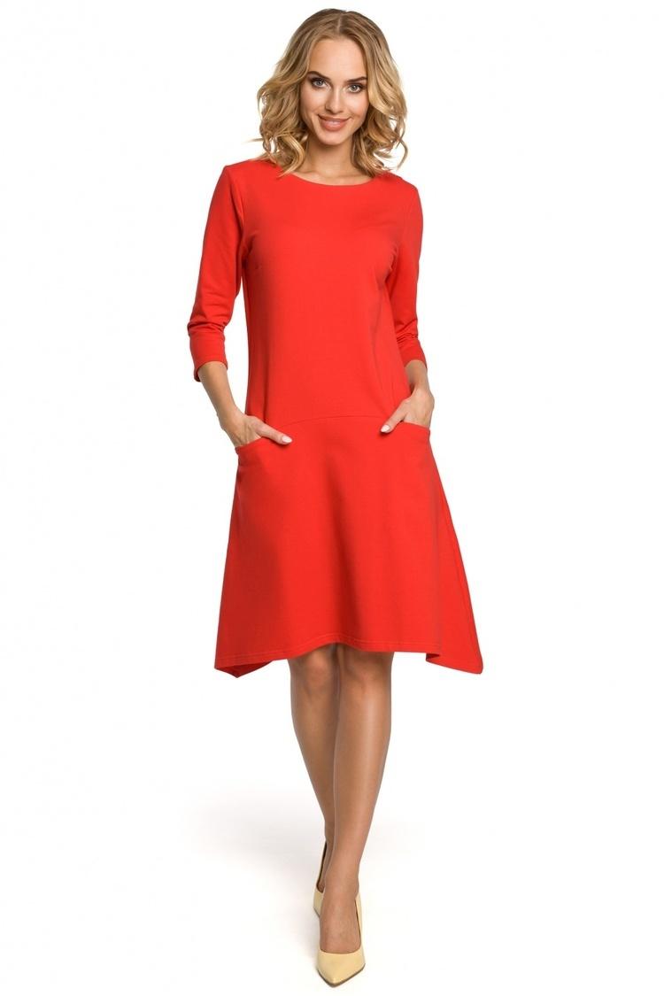 Sukienka Model MOE328 Red - Moe
