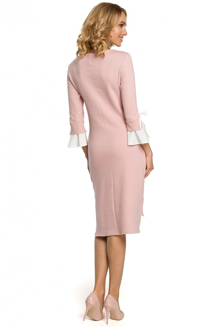 Sukienka Model MOE327 Pink - Moe
