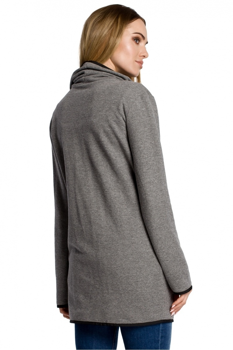 Sweter Damski Model MOE357 Grey - Moe