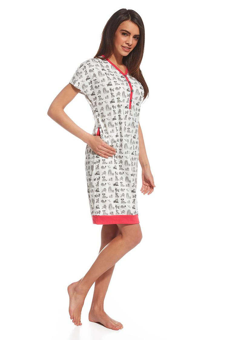 Koszulka nocna Koszula Nocna Model Lets Go 3 637/115  Multicolor - Cornette