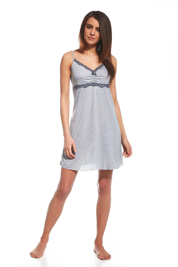 Koszulka nocna Koszula Nocna Model Carrie 062/124 Grey - Cornette