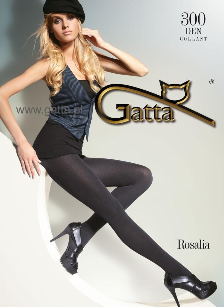 Rajstopy Rosalia 300 Nero - Gatta