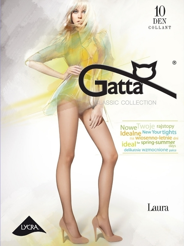 Rajstopy Laura 10 Grafitowy - Gatta
