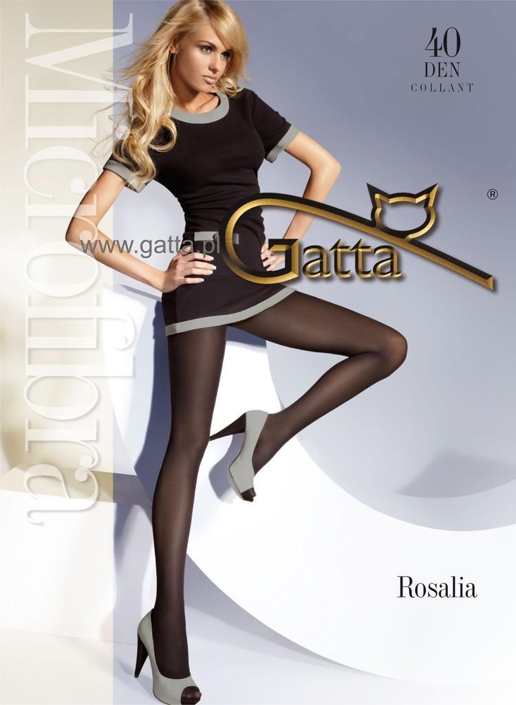 Rajstopy Gatta Rosalia 40 Vino Rosso - Gatta
