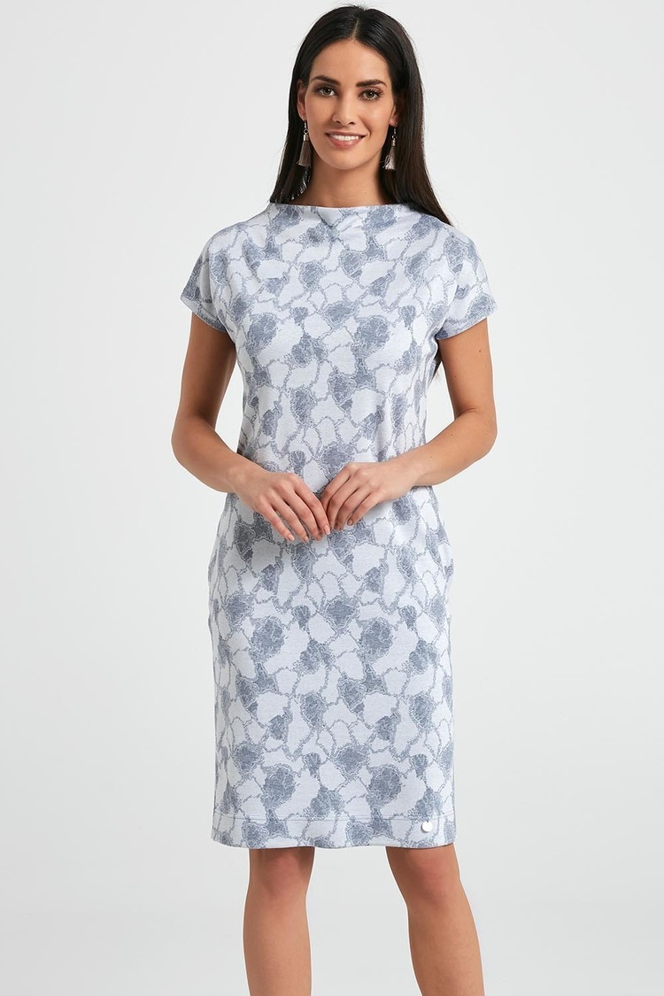Sukienka Model 250022 Ecru - Enny