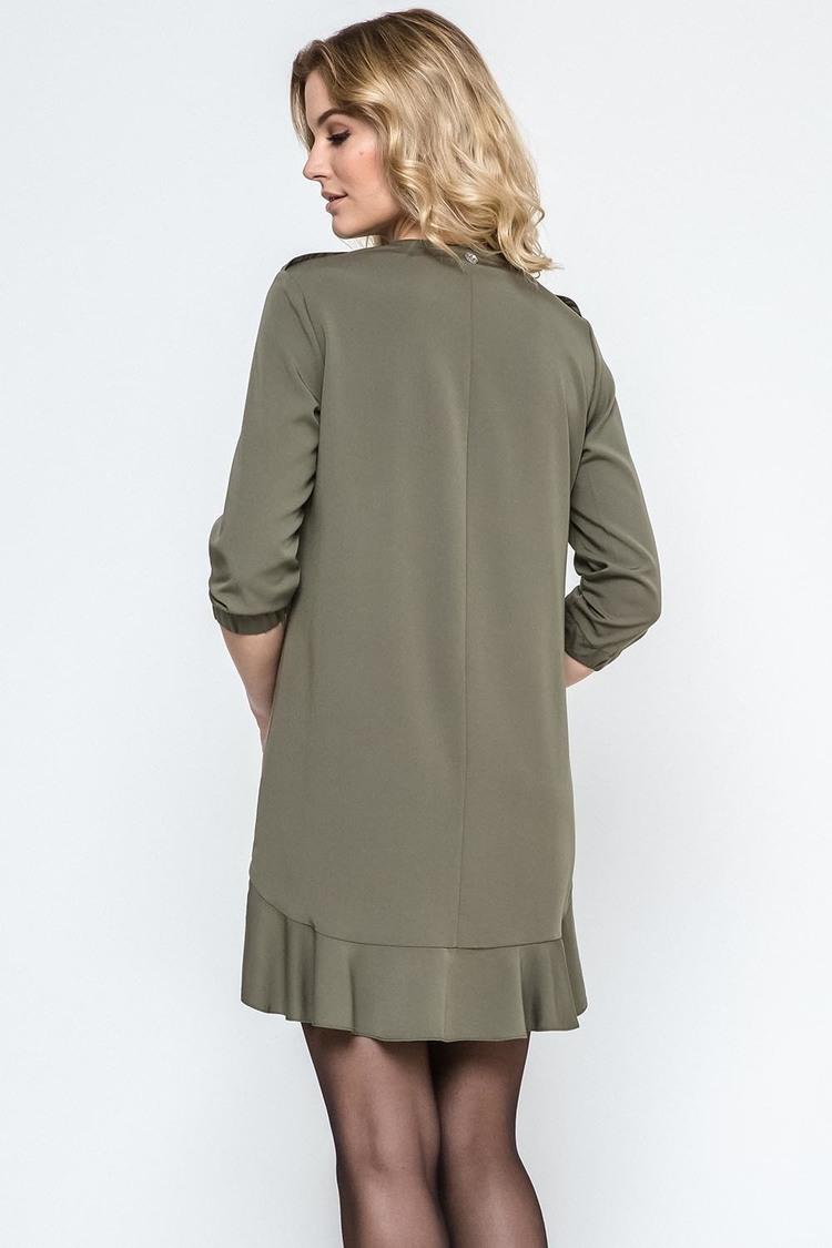 Sukienka Model 240079 Dark Green - Enny
