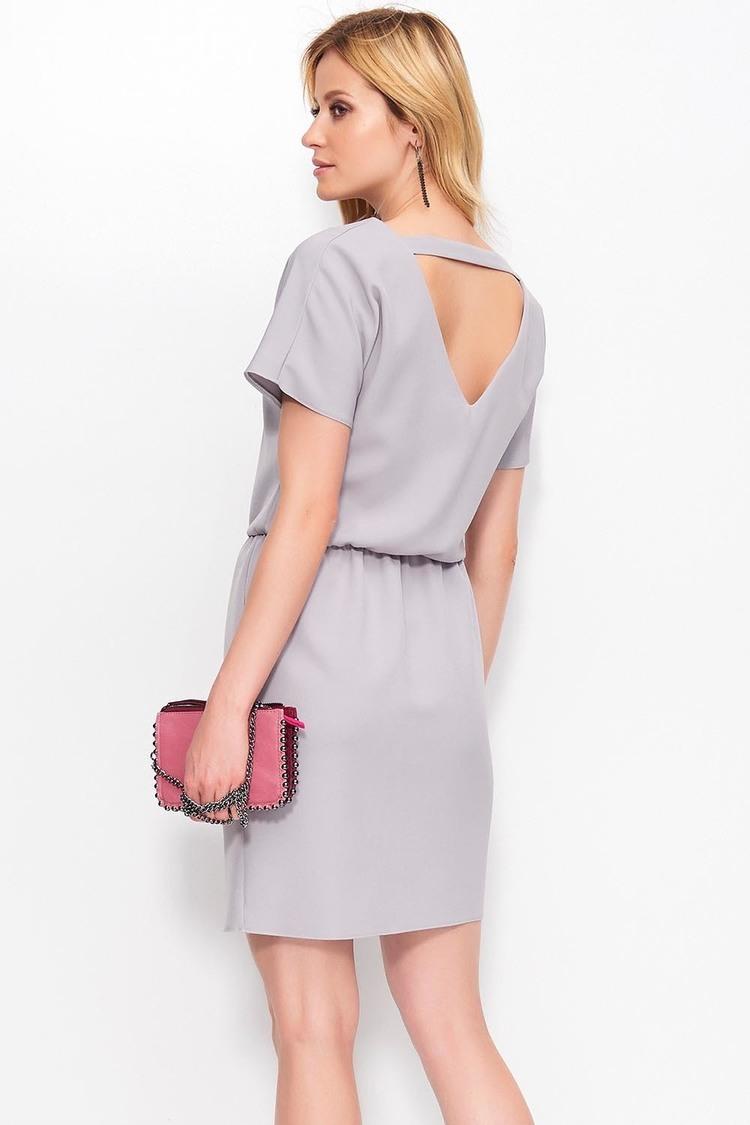 Sukienka Model M398 Grey - Makadamia