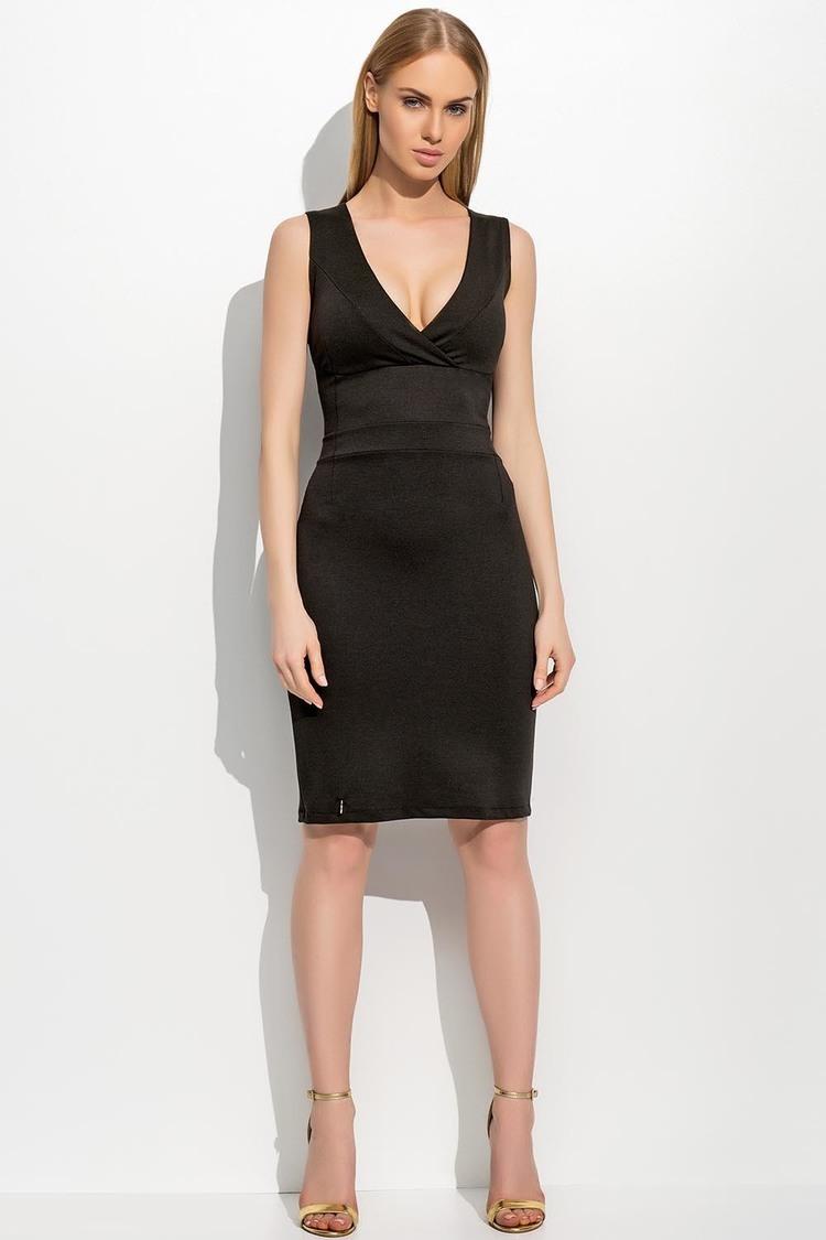 Sukienka Model M308 Black - Makadamia
