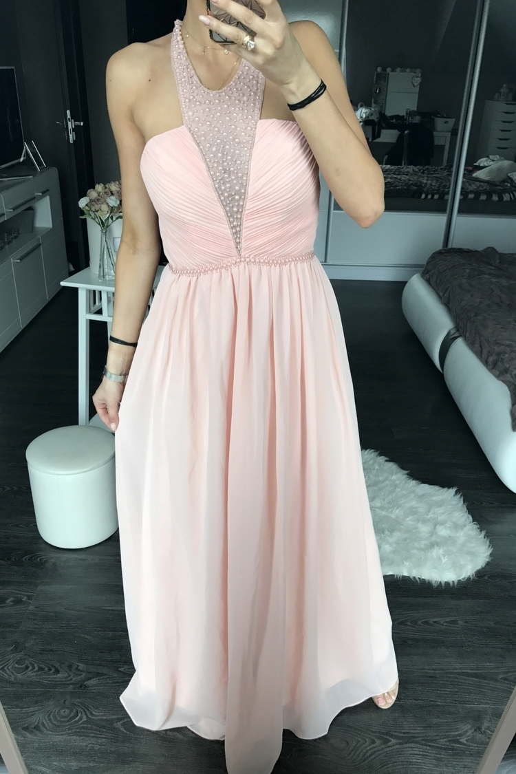Sukienka Model 17739 Powder Pink - YourNewStyle