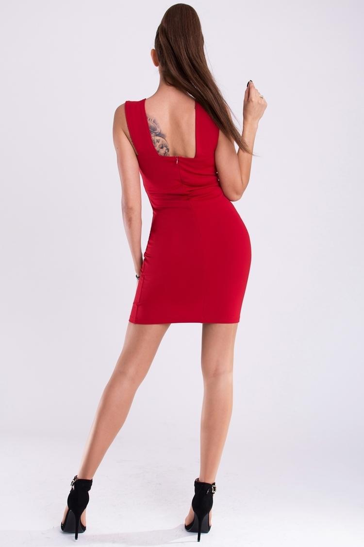 Sukienka Model 17284 Bordo - YourNewStyle