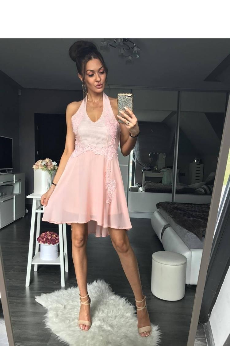 Sukienka Model 17732 Powder Pink - YourNewStyle
