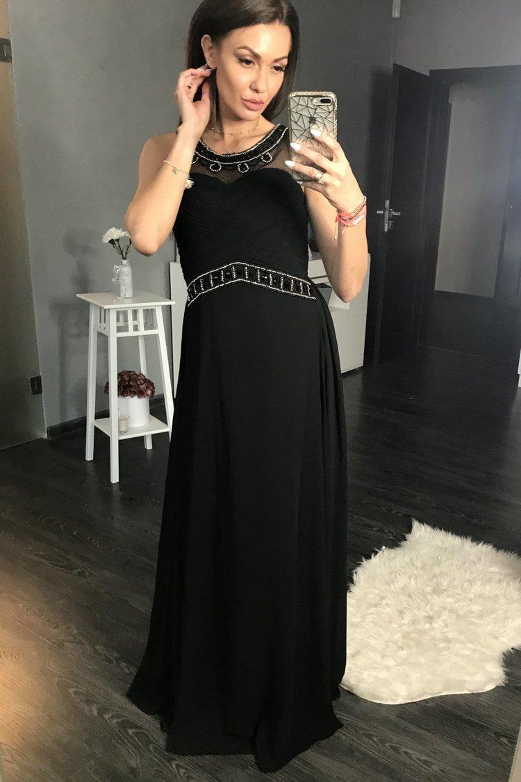 Sukienka Wieczorowa Model 17772 Black - YourNewStyle