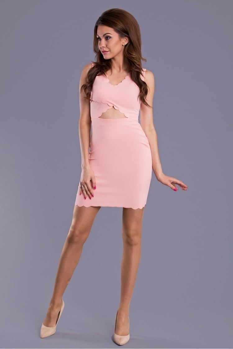 Sukienka Model 16576 Light Pink - YourNewStyle