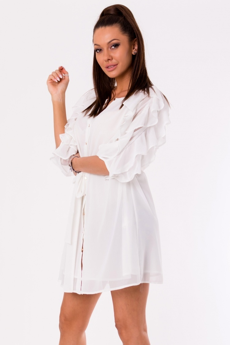 Sukienka Model 17996 White - YourNewStyle