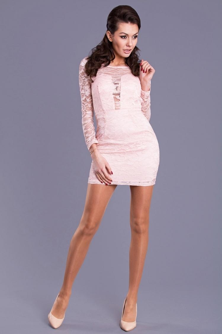 Sukienka Model 16111 Dirty Pink - YourNewStyle