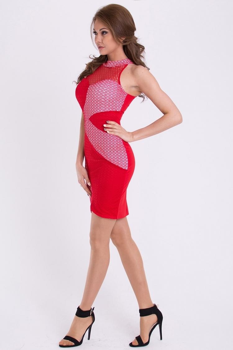 Sukienka Model 17063 Red - YourNewStyle