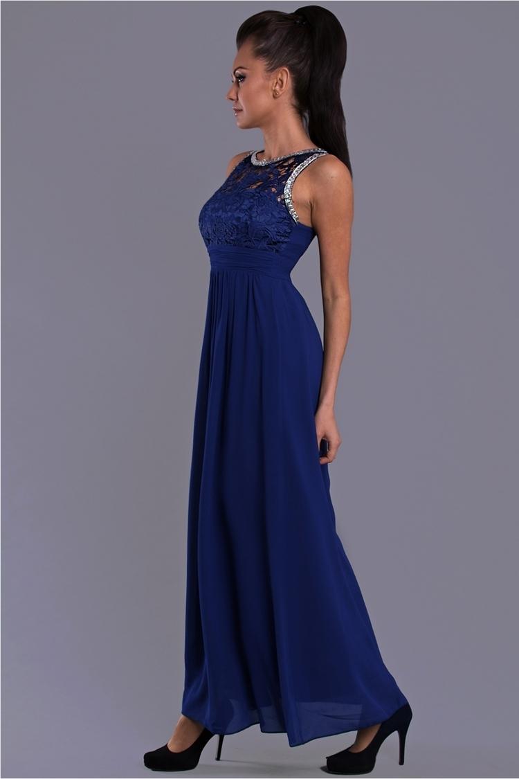 Sukienka Model 16556 Cobalt - YourNewStyle