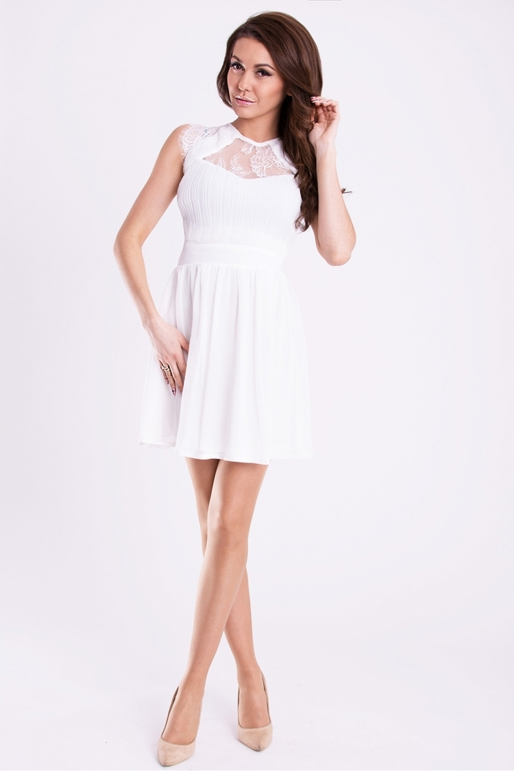 Sukienka Model 16991 White - YourNewStyle