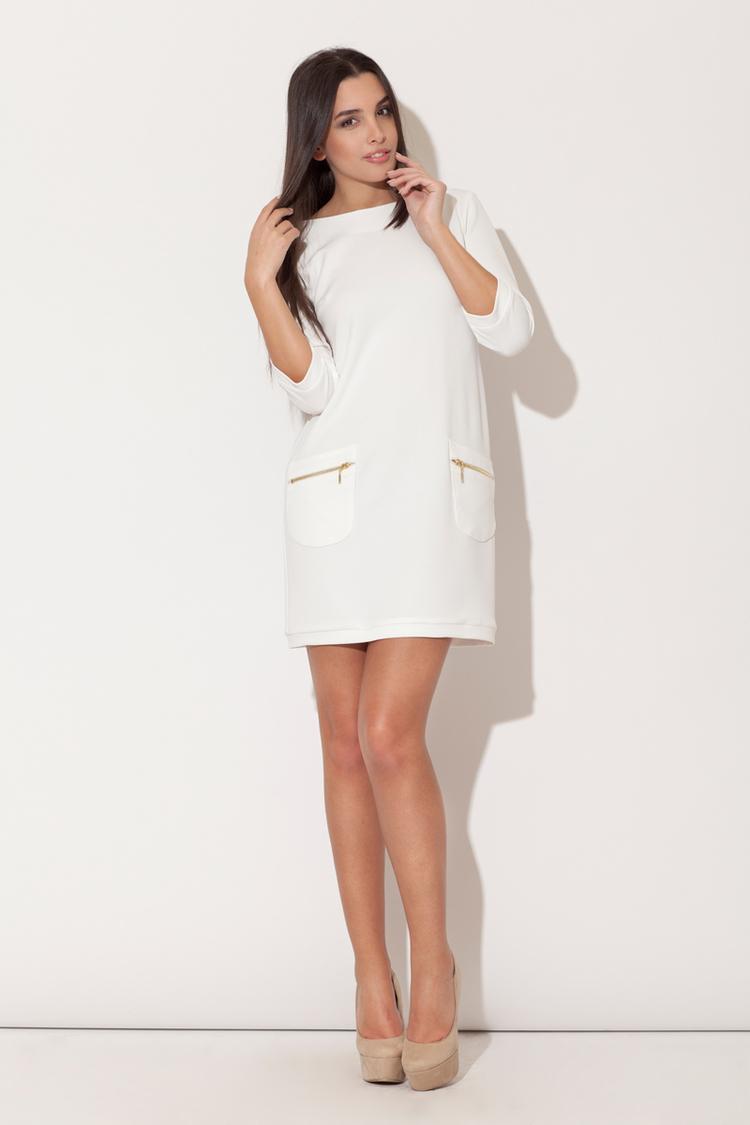 Sukienka Model K087 Ecru - Katrus