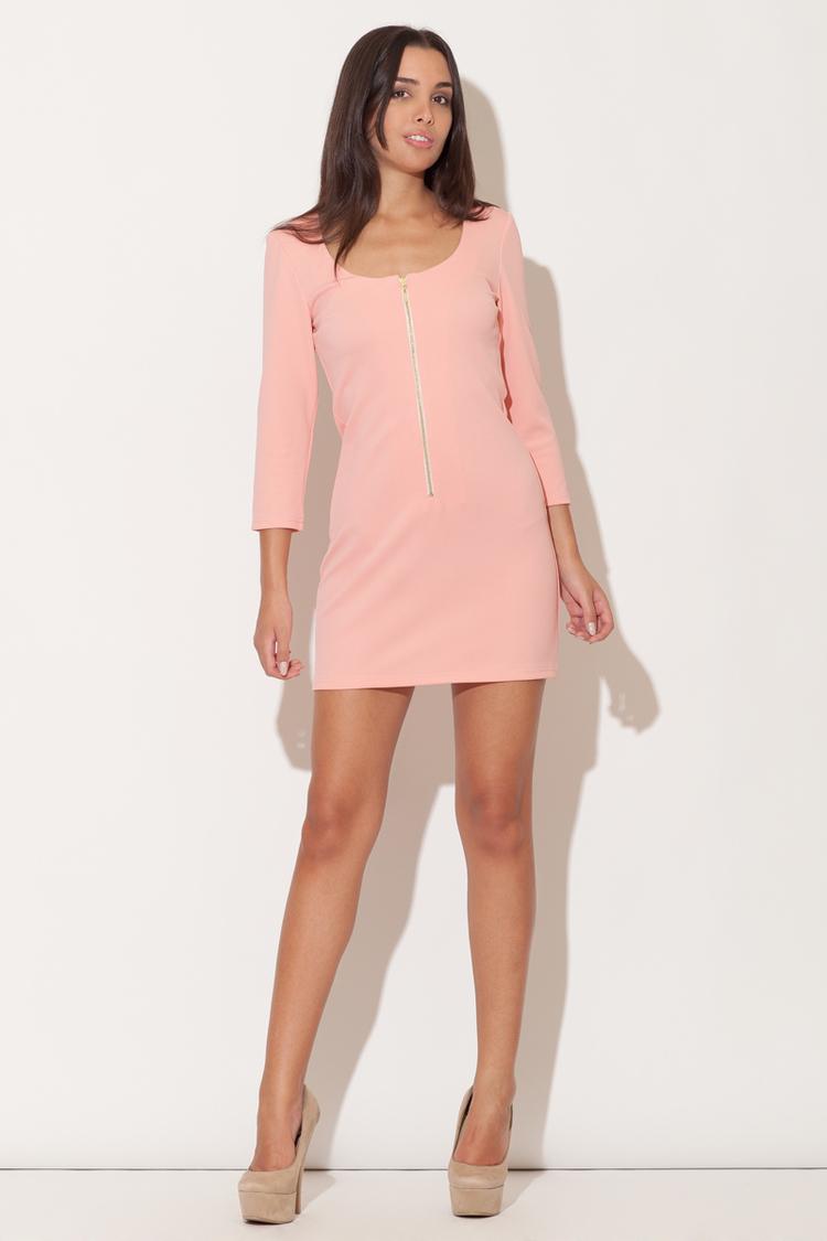 Sukienka Model K104 Pink - Katrus