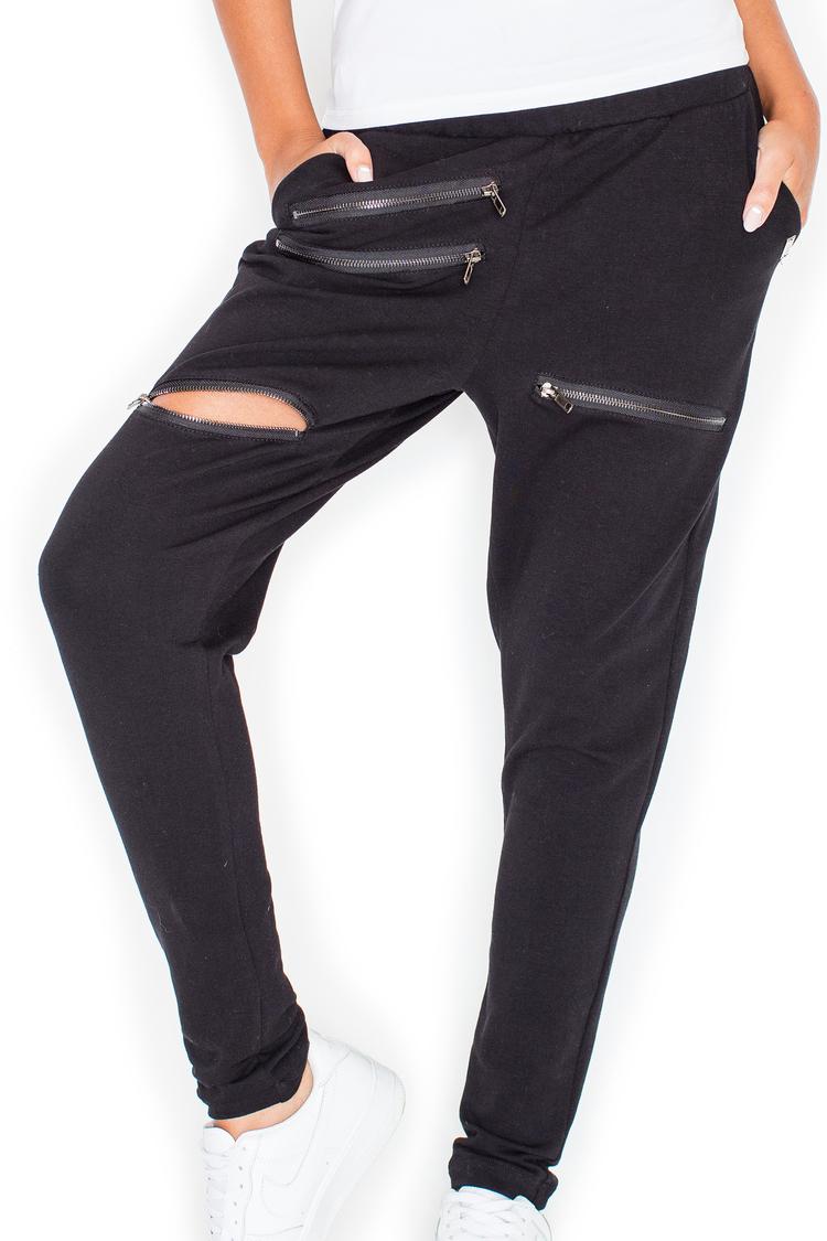 Spodnie Dresowe Model K333 Black - Katrus