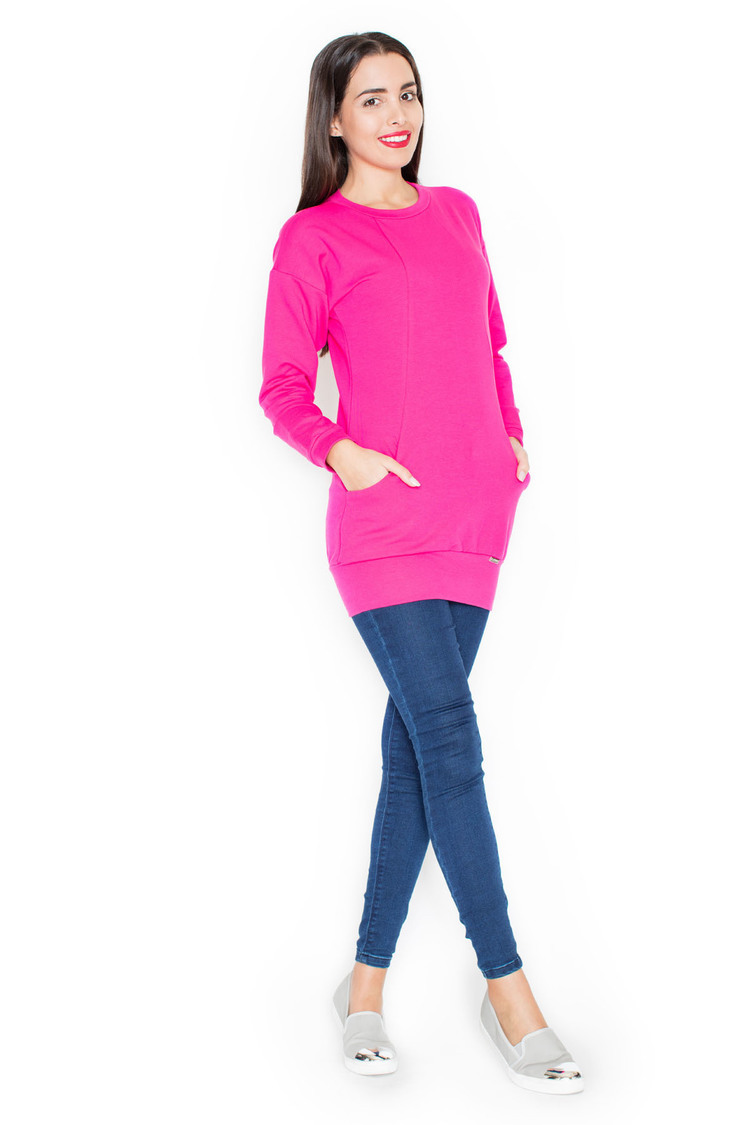 Bluza Damska Model K289 Pink - Katrus