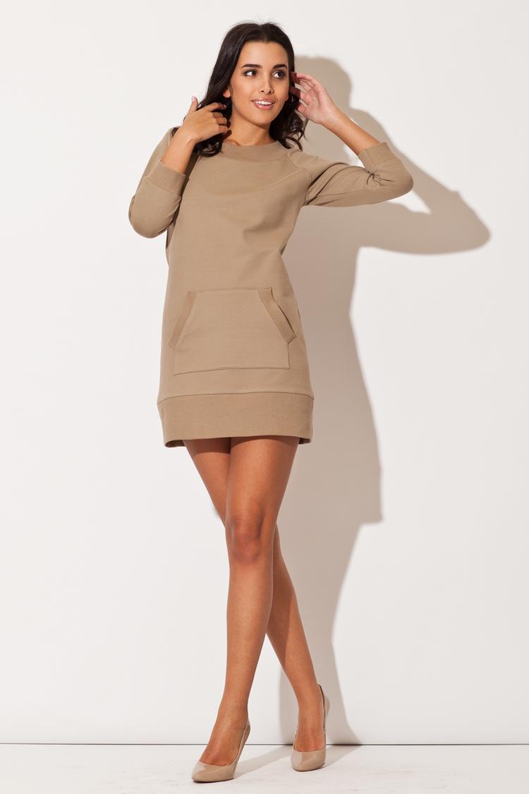 Sukienka Model K144 Beige - Katrus