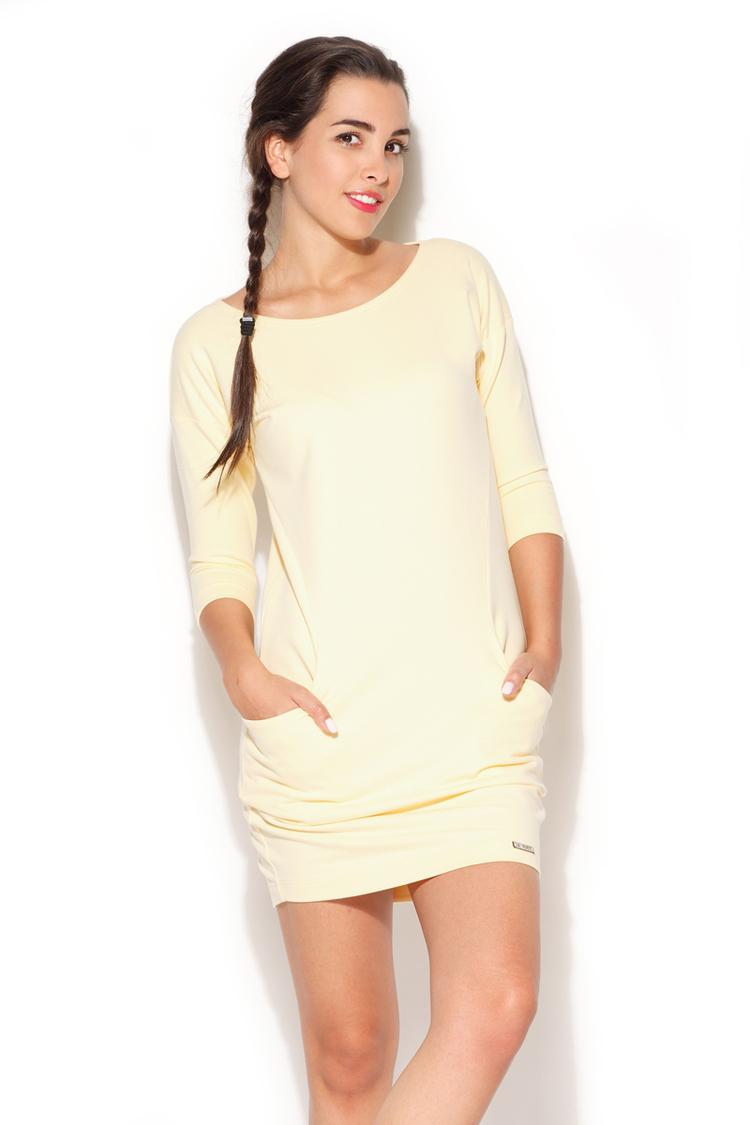Sukienka Model K181 Yellow - Katrus
