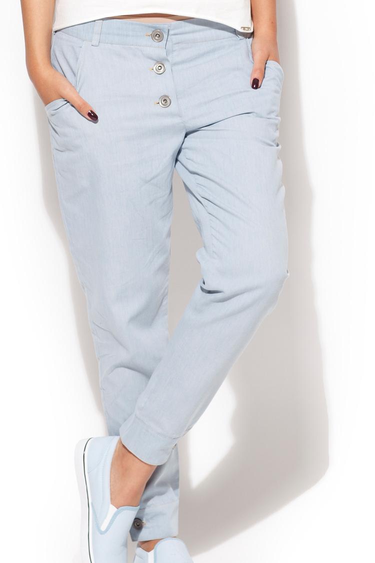 Spodnie Damska Model K163 Sky Blue - Katrus