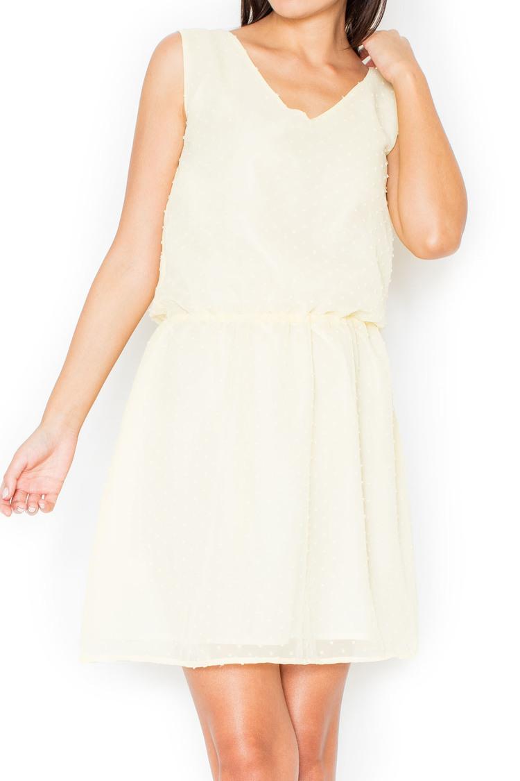 Sukienka K154 Yellow - Katrus