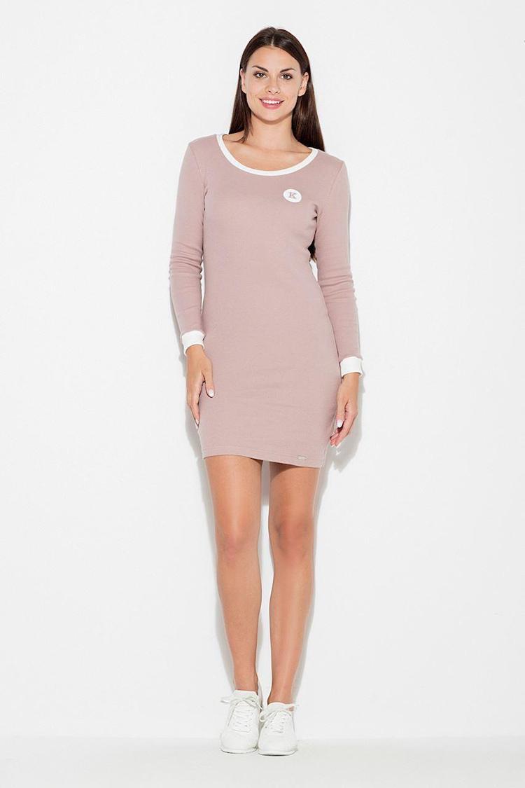 Sukienka Model K452 Pink - Katrus