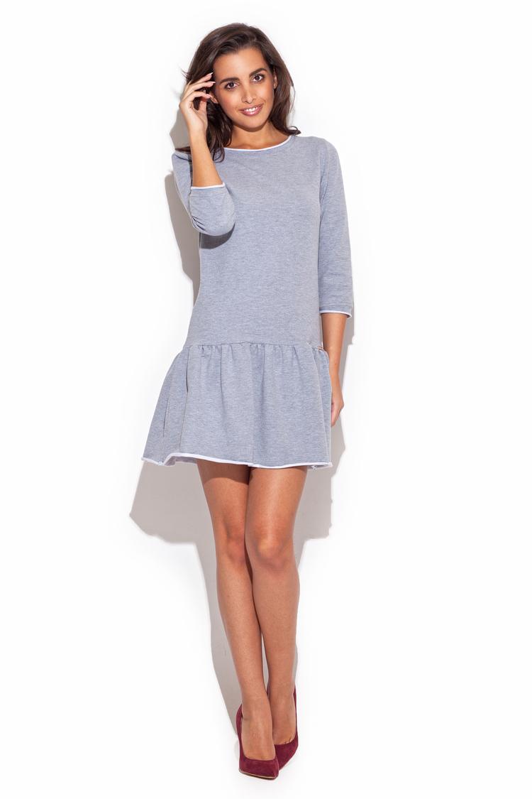 Sukienka Model K222 Grey - Katrus