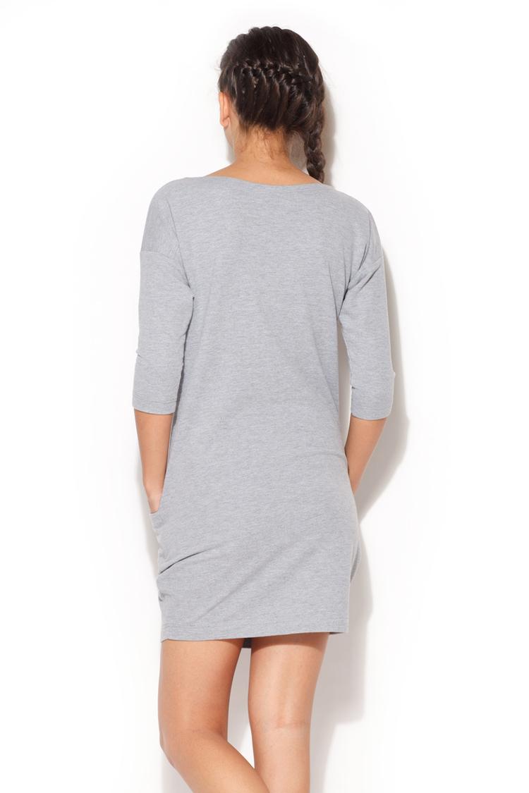 Sukienka Model K181 Grey - Katrus