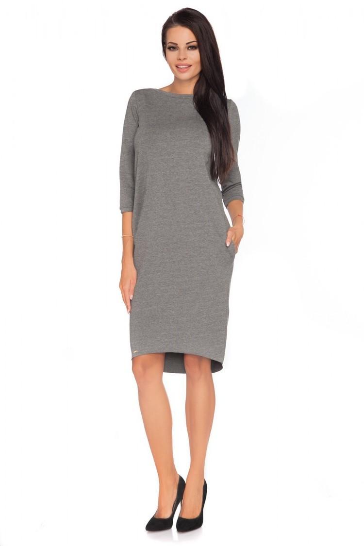 Sukienka Model Halina 4 Grey - Tessita