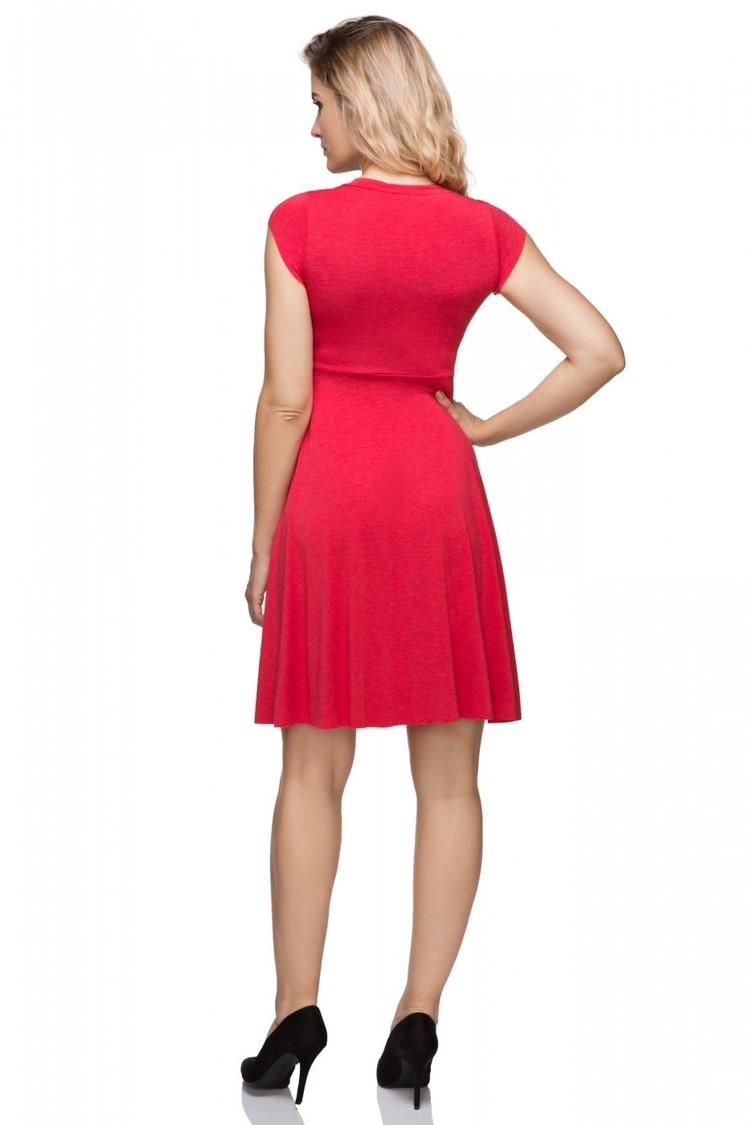 Sukienka Model T146/5 Bis Red - Tessita