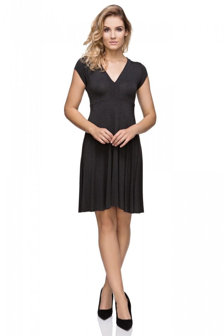Sukienka Model T146/1 Bis Dark Grey - Tessita
