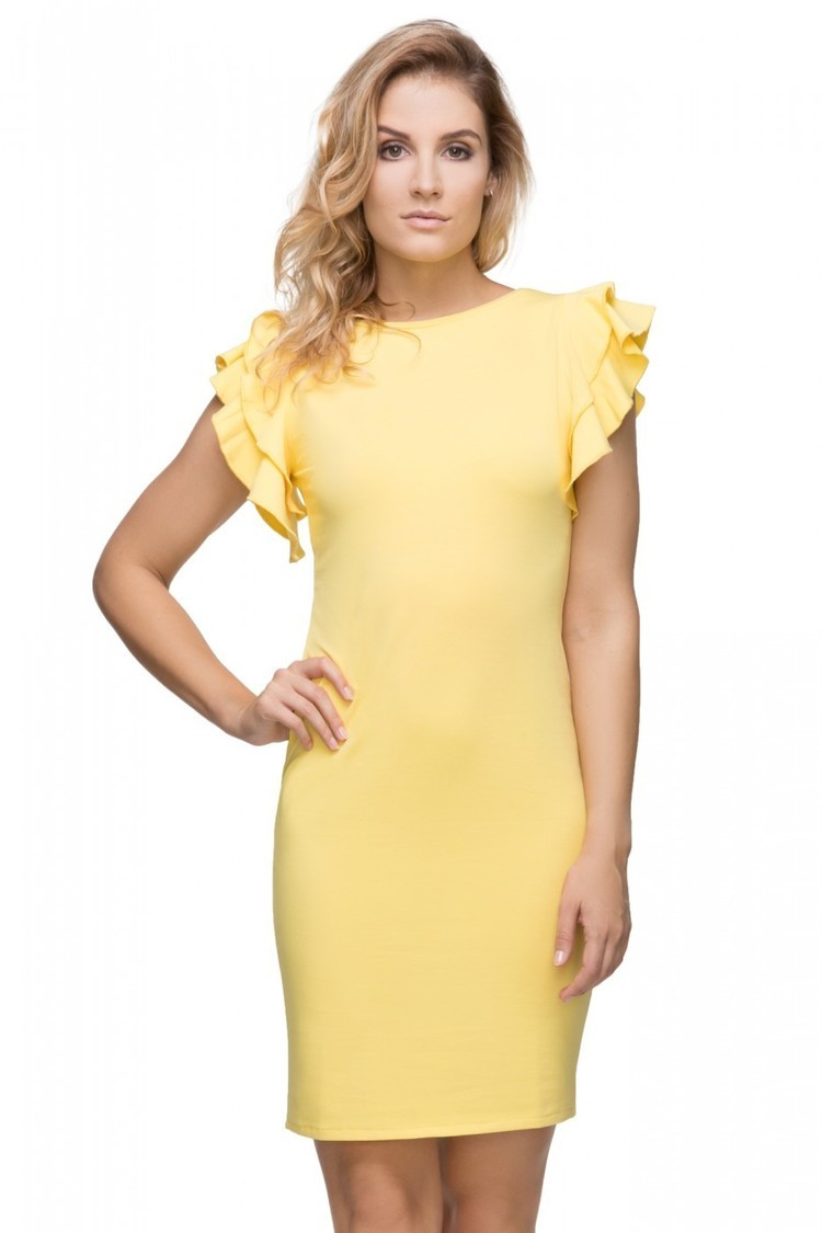 Sukienka Model T165/6 Yellow - Tessita