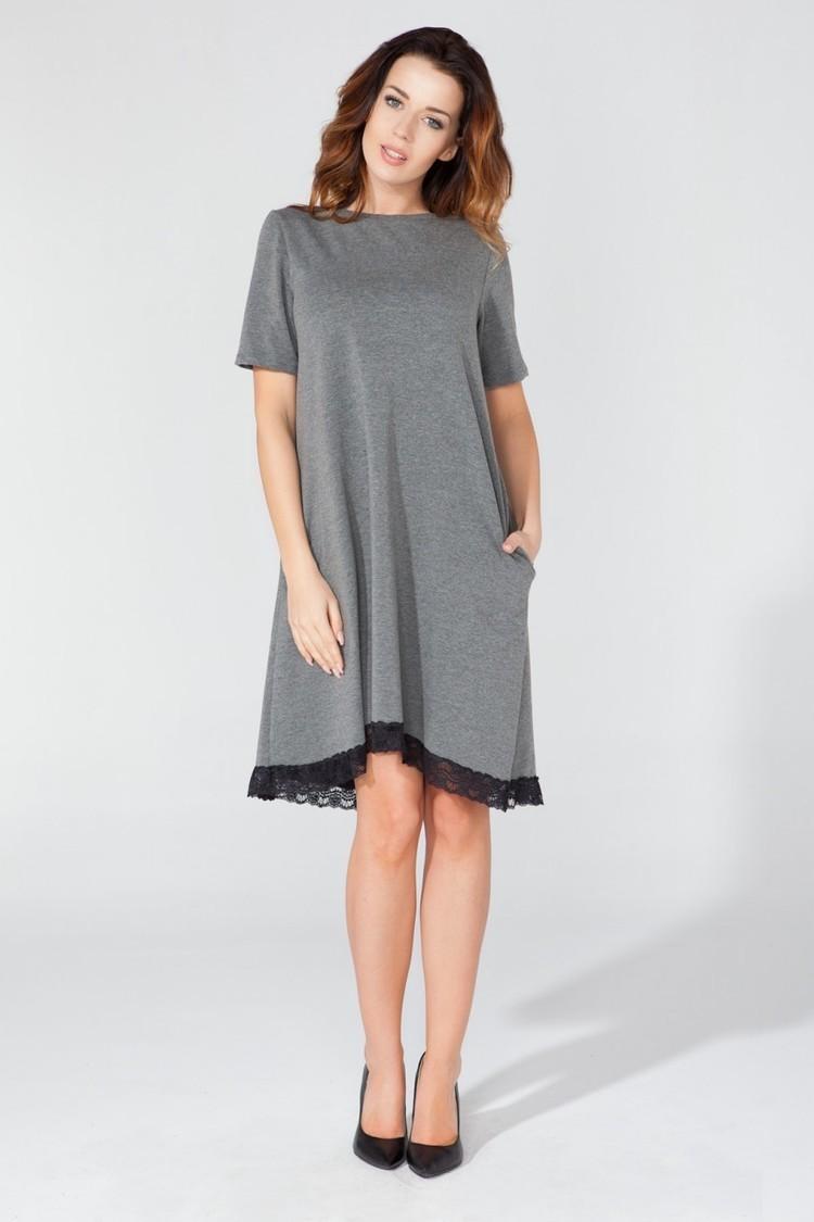 Sukienka Model T107 Grey - Tessita