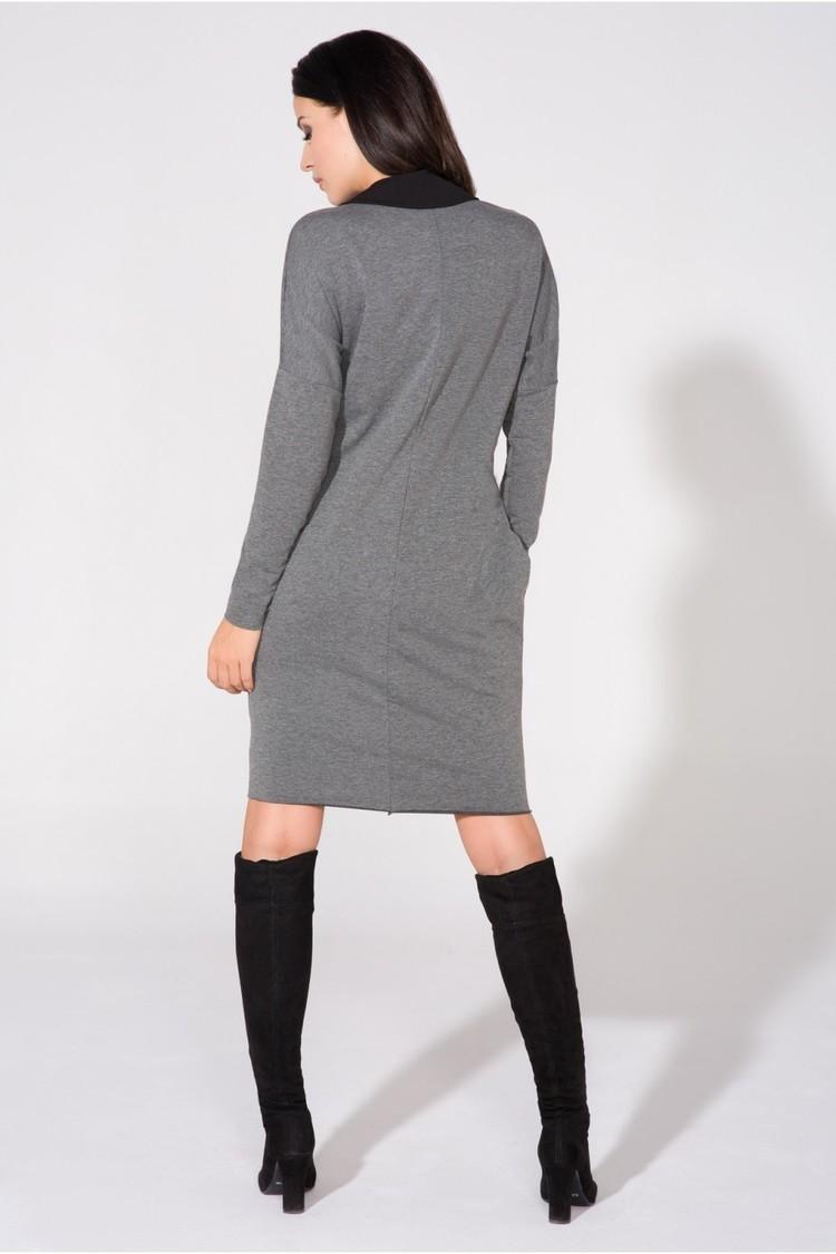Sukienka Model T142 Grey - Tessita