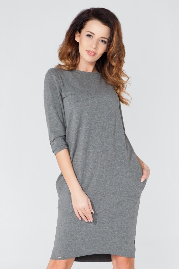 Sukienka Model T105 Grey - Tessita