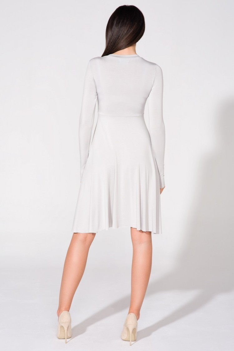 Sukienka Model T146 Light Grey - Tessita