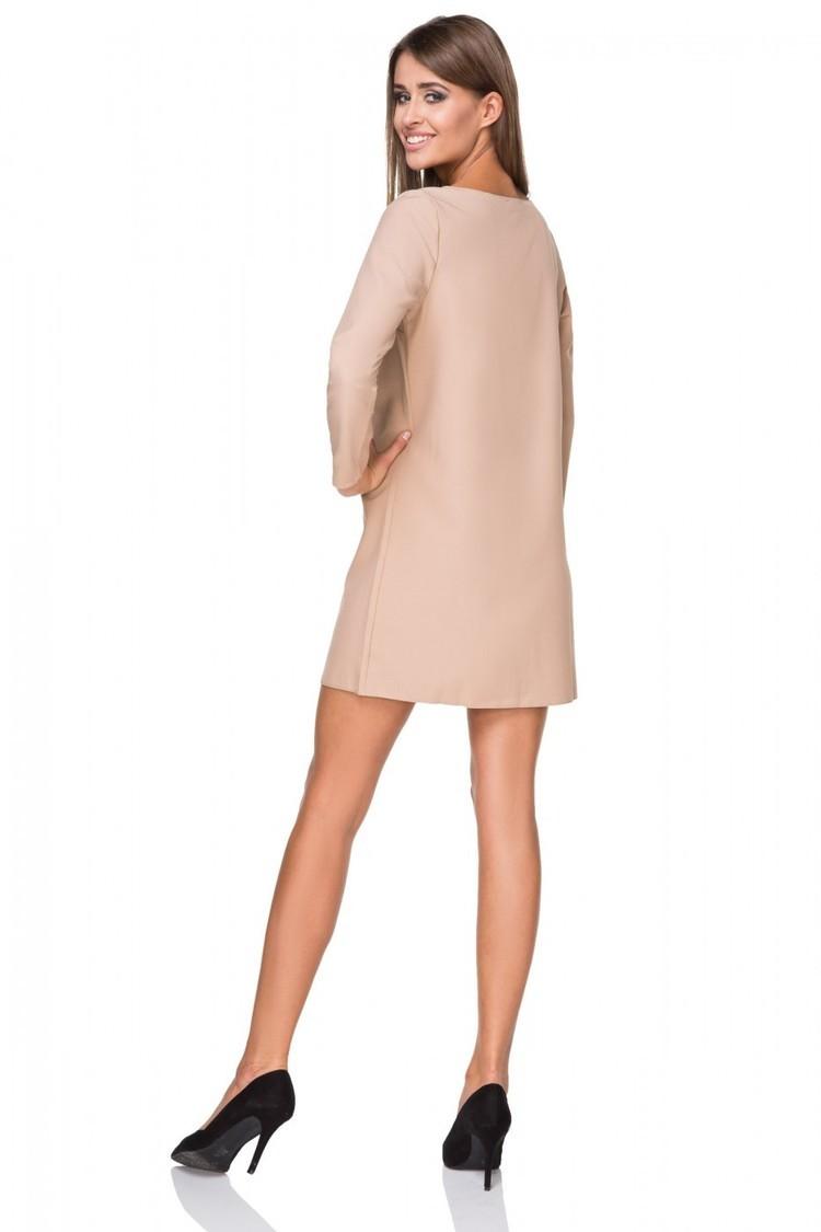 Sukienka Model T209/2 Beige - Tessita