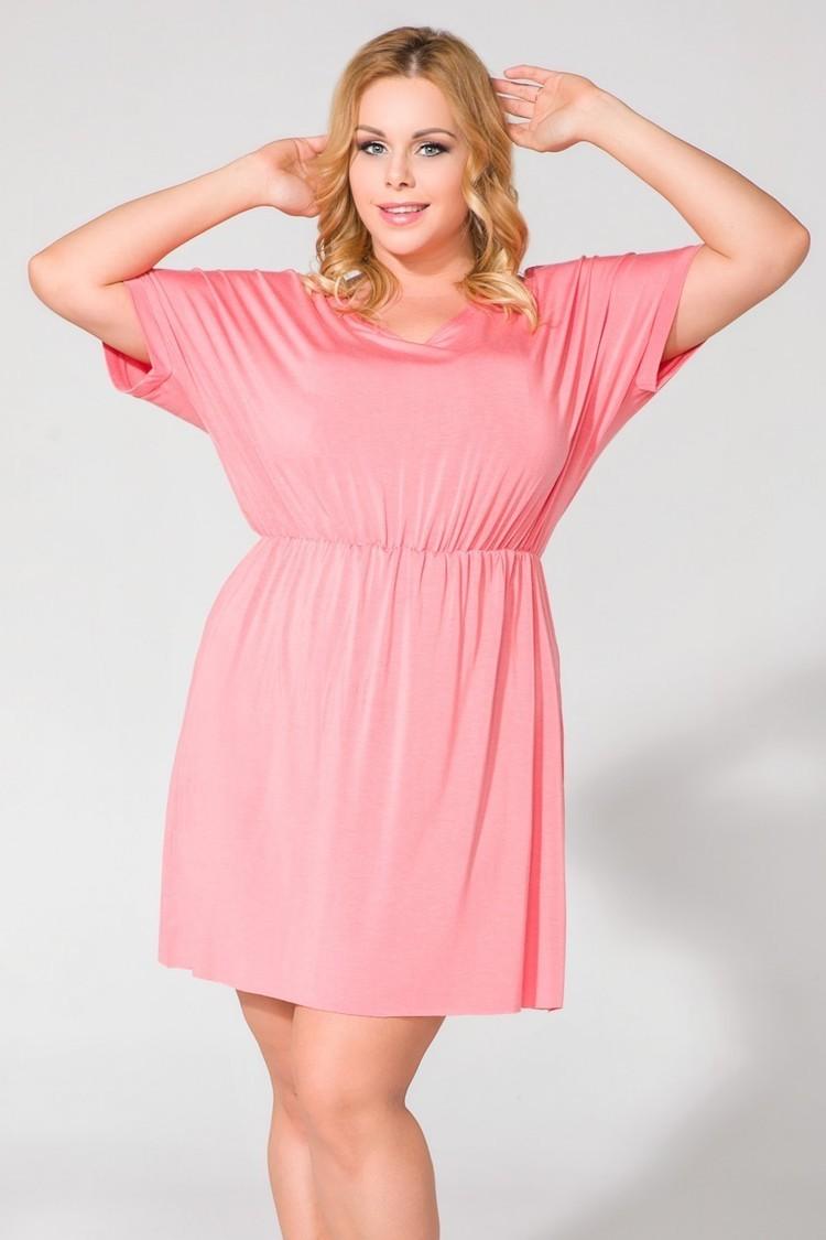 Sukienka Model PS5 Pink - Tessita