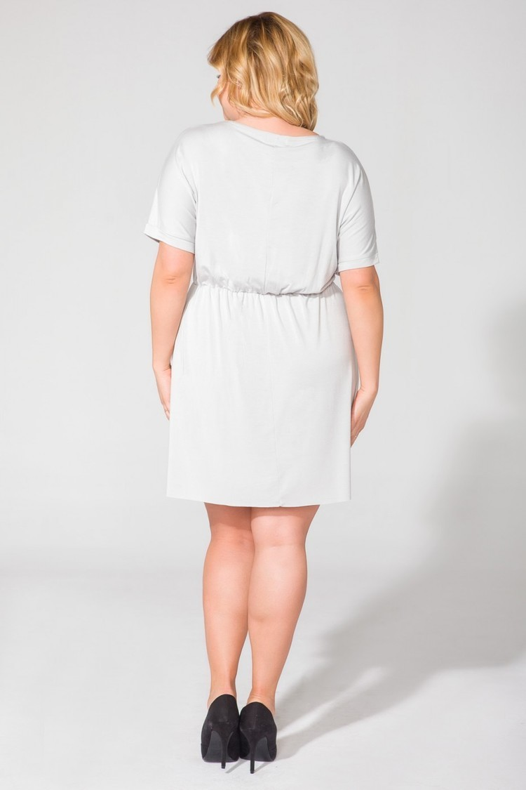 Sukienka Model PS5 Light Grey - Tessita