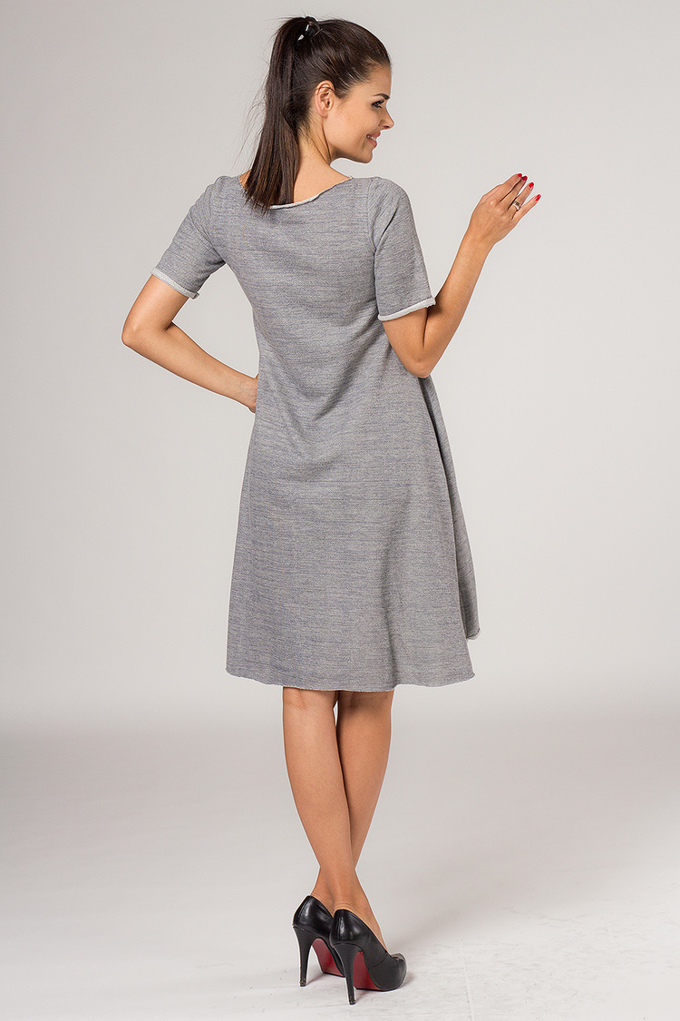 Sukienka Model Nadia 3 Grey - Tessita