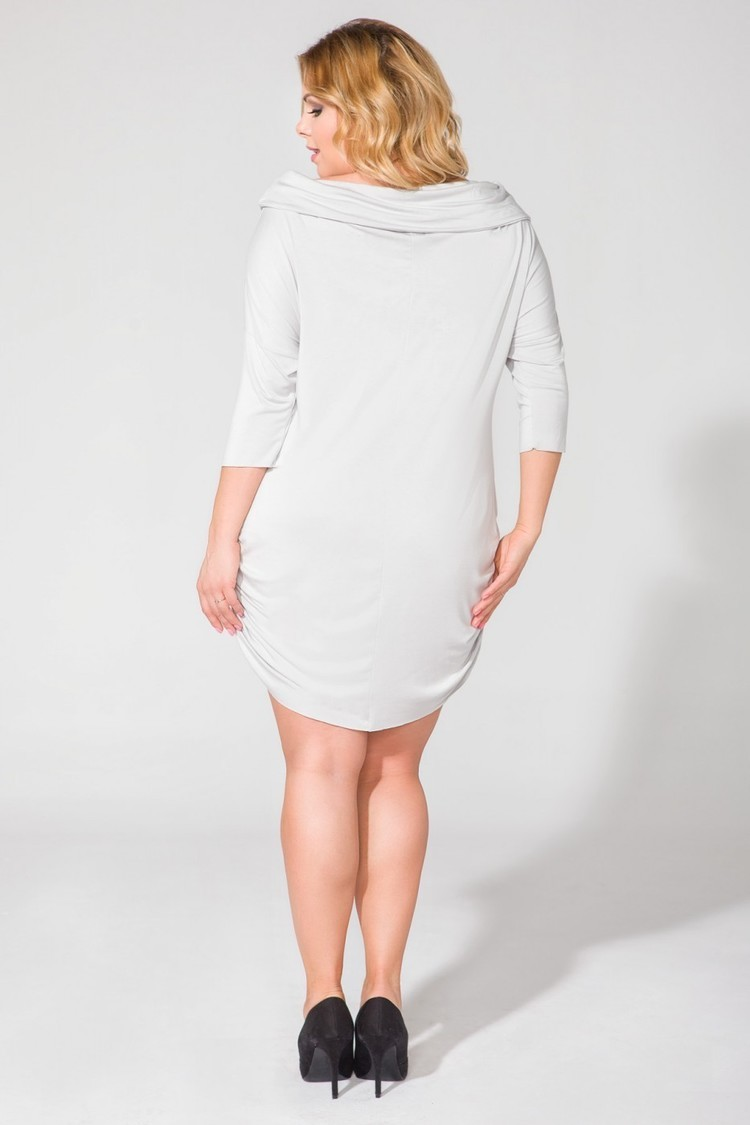 Sukienka Model PS2 Light Grey - Tessita