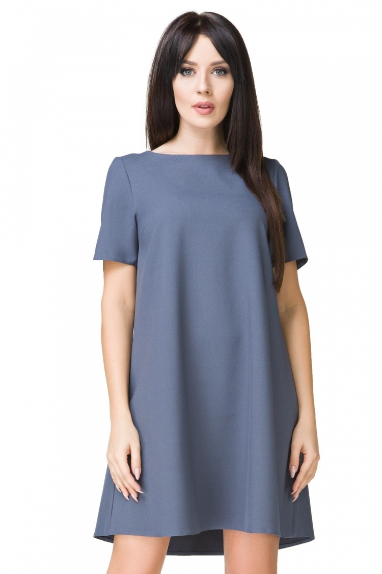 Sukienka model T203/1 Dirty Blue - Tessita