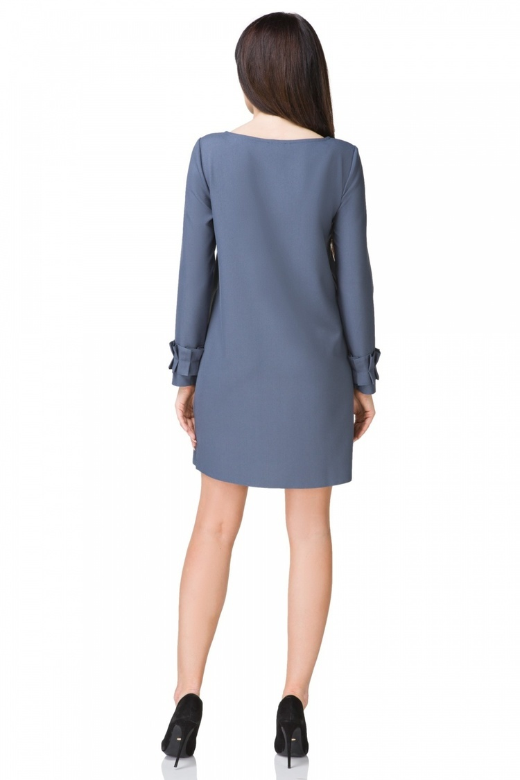 Sukienka model T196/1 Dirty Blue - Tessita
